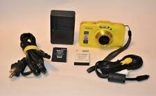 Nikon Coolpix S31 Waterproof 5m Yellow 10.1MP Digital Camera with HD Video