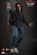 HOT TOYS 1/6 IRON MAN 3 TONY STARK (THE MECHANIC) NUOVO CON BROWN BOX