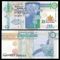 SEYCHELLES 100 RUPEES 2013 P NEW UNC