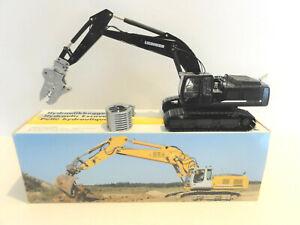 "Conrad 2921.10 Liebherr R 954 C Excavator Metal Tracks HTM ""BLACK"" 1:50 ""NEW"""