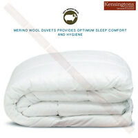 100% Merino Wool Pure Duvet Quilt Bedding Hotel Quality Luxurious All Size & Tog