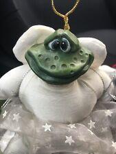 Russ Berrie Dreamweaver Angel Frog Figurine Country Folks Kathleen Kelly Critter