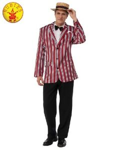 New Party  Good Time Sam Roaring 20's Costume Adult Costume