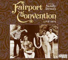 Fairport Convention feat. Sandy Denny : Live 1974 CD (2016) ***NEW***