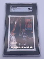 American Basketball Card💎Shaquille O'Neal SCC 9💎1993-94 Topps All Star🌟#134🌟