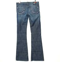 Rock & Republic Womens Jeans Roih Flare Size 27 X 35 Long Tall Stretch