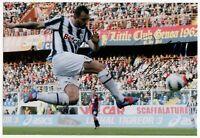 Foto Autografo Calcio Simone Pepe Asta Beneficenza Soccer Juventus Signed Sport
