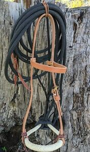 Californian Style Hackamore / Bitless Bridle