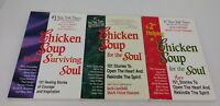 CHICKEN SOUP FOR THE SOUL Book Lot Canfield Hanson Surviving Healing 101 Stories