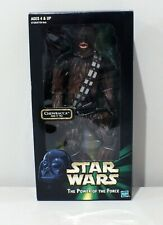 """Chewbacca 13"""" tall  The Power of the Force 12"""" Figure New NIP Star Wars"""
