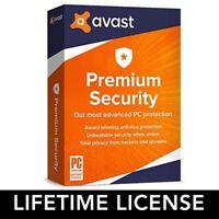 Avast Premium Security 2020 Lifetime Key 🔑 Auto Renewal Subscription