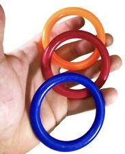 3110 Pk3 Plastic Big Rings Parrot Bird Toy Parts Talon Foot Toys conure macaw