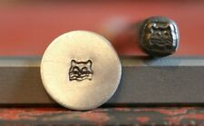 SUPPLY GUY 5mm Cat Face Metal Punch Design Stamp SGM-43, Made in the USA