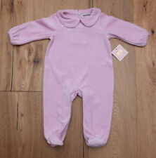 Juicy Couture Baby Girl Velour Footed Coverall ~ Lavender ~