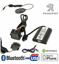 Kits mains-libres bluetooth pour automobile Peugeot