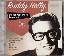 """CD  ALBUM  BUDDY HOLLY   """"THAT'LL BE THE DAY"""""""