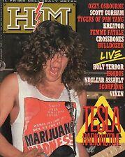 rivista - H/M HEAVY METAL - Anno IV Numero 63