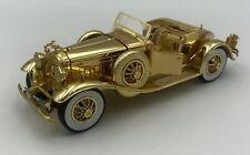 1930 Packard 1:32 Die-Cast Gold Tone Signature Model
