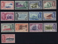 Cayman Islands 122 to 134 complete set - mlh George VI