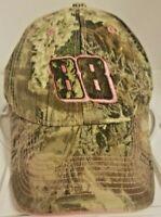 Nascar 88 Dale Jr Womens Realtree Camo Pink Baseball Cap Winners Circle