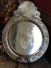 New ListingAntique Wicox Meriden Victorian Silver Quadruple-plate Aesthetic Period Platter