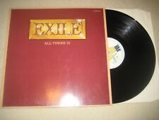 Exile - All there is    Vinyl  LP