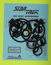 1993 Williams Star Trek the Next Generation pinball rubber ring kit STTNG