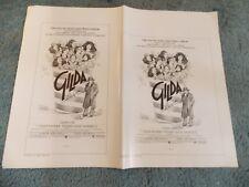 GILDA LIVE(1980)GILDA RADNER 3 ORIGINAL AD MAT SECTIONS NICE!