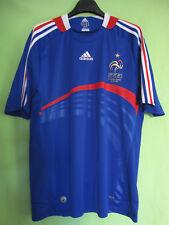 Maillot Equipe de France Euro 2008 Vintage Adidas Jersey Football trikot - L