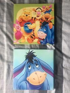 Winnie The Pooh And Eeyore Disney Canvas