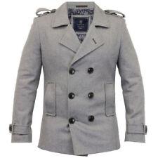 Cappotti e giacche da uomo misto lana , Taglia 46