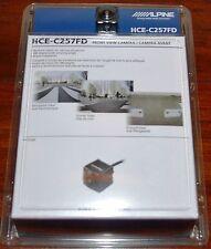 NEW ALPINE HCE-C257FD UNIVERSAL AUTOMOBILE Wide Multi View FRONT CMOS CAMERA