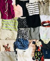 Lot Juniors Womens Clothes Tops XS X Small Back To School Express American Eagle