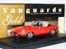 Vanguards Gold VG003061R 1961 Jaguar E-Type Series 1 Roadster Red LTD ED 1/43