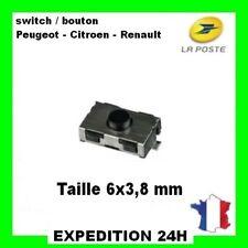 1 Switch Bouton Plip Clé Télécommande Renault CLIO 2 Twingo Infrarouge Top GZ