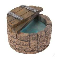 New Miniature/Fairy Garden Rustic Mini Witches Well - stone effect mini well