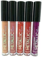 (100) L.A. Colors Metallic Lip Shine Metallic Liquid Lip Color No Repeats