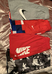 Boys Nike Shorts 4 Pack Bundle Size Xl