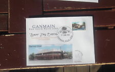Ganmain Hotel Design, New Pm Murray River P & Stick Stamp First Day Cover 2003