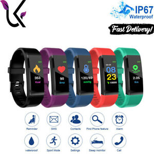 Smart Watch Sport Band Fitness Activity Tracker For Kids Fit Bit iOS Android