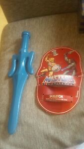 he man motu masters of the universe skeletor sword 1984 with card