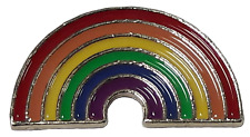 LGBT Rainbow Metal Enamel Pin Badge Lesbian Gay Diversity Pride Great Quality