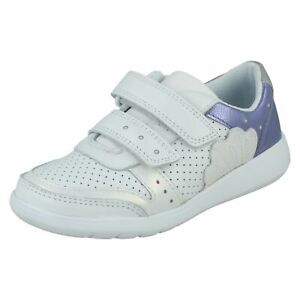 Clarks Girls Casual Trainers Scape Shell
