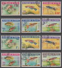 Guinea Guinée 1964 used Mi.214/25 A Fische Fish [st3250]