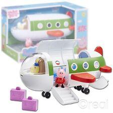 Nuevo Peppa Pig Peppa Jet Playset Figura avión Air avión oficial