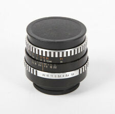 Carl Zeiss Jena Pancolar 50mm f1.8 Zebra Prime Lens with M42 Mount