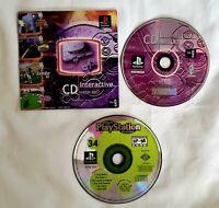 PS1 PlayStation 1 Interactive CD Sampler Disc Volume 9 + Magazine 34 Demo 1998