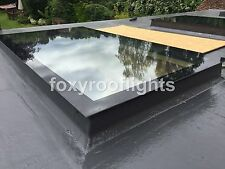 Skylight Flat Roof Rooflight T/G Self Clean Glass 600mmx1500mm+Kerb OVERSTOCK!!!