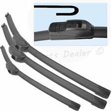 Fit SSANGYONG Rodius 08.2004-12.2012 Front Flat Aero Wiper Blades