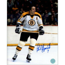 Phil Esposito Boston Bruins Signed 8x10 Legend Photo